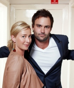 Offspring characters: Nina Proudman and my future husband, Patrick Reid.